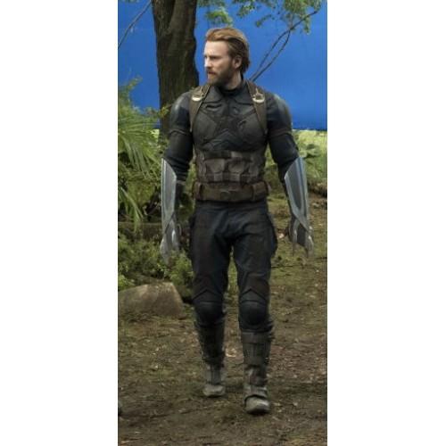 Captain America Avengers Infinity War 2018 Cordura Suit Captain