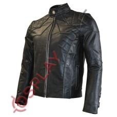 Men's Blazer Style Sheep Leather Jacket