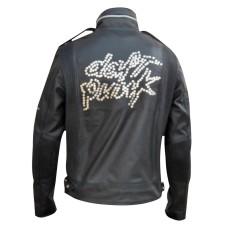 Men's Handman Daft Punk Fashion Leather Jacket