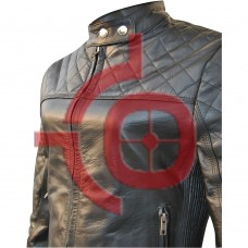 Women's Blazer Style Sheep Leather Jacket