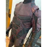 Daredevil season 2 Matt Murdock costume suit (Screen Printed Lycra Suit ) + Accessories