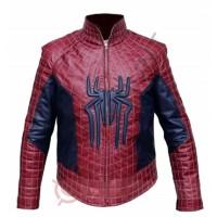 The Amazing Spider Men 2 Jacket / Spider Man 2 Leather Jacket
