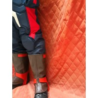 Avengers Age of Ultron Captain America Steve Rogers Real Leather Boot Cover/Gaiters (Free Shipping)
