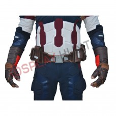 Avengers Age of Ultron Captain America Steve Rogers Real Leather Accessories
