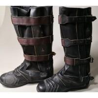 Captain America Steve Rogers Avengers 4 Endgame Boot Covers /Gaiters (Free Shipping)