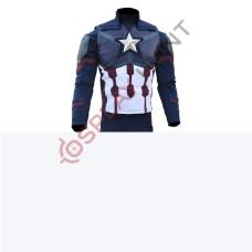 Captain America Steve Rogers Avengers 4 Endgame jacket and Vest (Lycra Fabric )