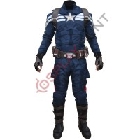 Captain America Stealth Strike Cordura Fabric Costume Suit with Accessories
