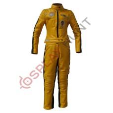 Kill Bill Uma Thurman Movie Costume suit / Kill Bill Volume 1 Leather Suit