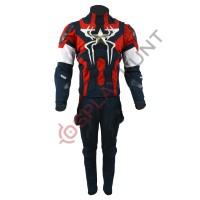Captain America Spider-Man mashup costume suit