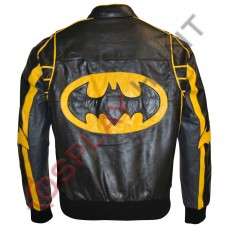 Batman Bomber Fashion Leather Jacket / Batman Bomber Jacket