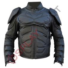 Batman The Dark Knight Rises Motorcycle Leather Jacket / Batman v Bane Motorbike jacket