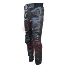 Batman The Dark Knight Rises Motorcycle Leather Trouser / Batman Christian Bale Pant