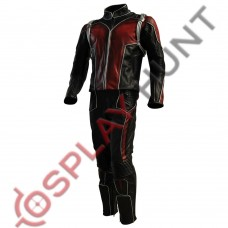 Scott Lang Ant-Man Movie Leather Wax Suit / Ant-Man :Heros Don't Get Any Bigger