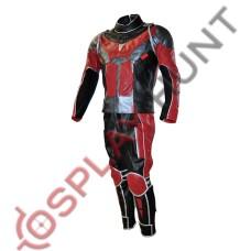 Scott Lang Civil war Ant man Leather Suit / Ant-Man :Heros Don't Get Any Bigger