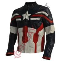Avenger 2 Age of Ultron Suit Plus Captain America Winter Soldier Combination Costume Jacket