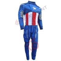Captain America The Avengers Costume suit / Captain Vintage Suit