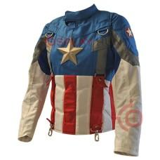 Captain America Winter soldier Golden age Ladies Jacket ( smithsonian Jacket )