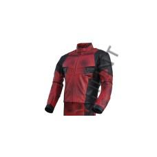 Ryan Reynolds DeadPool 2 Movie Motorcycle Leather Jacket / Dead Pool Costume Jacket