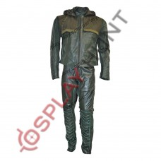 Green Arrow Stephen Amell Leather Suit / Arrow Oliver Queen Leather Suit