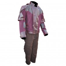 Star Lord Guardians of the Galaxy Volume 2 Chris Pratt Suit  ( Texture stretch + Leather )