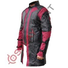 Avengers 2 Age Of Ultron Hawkeye Jeremy Renner Movie Costume Coat / Captain America Team