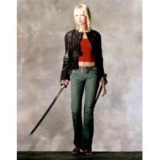 Kill Bill Uma Thurman Movie Costume Jacket / Kill Bill Volume 2 Leather Jacket