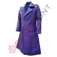 Jared Leto Suicide Squad Joker Coat| Purple Trench Coat / Joker in Suicide Sqaud Team