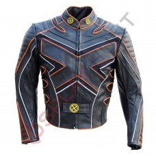 X-Men 3 The Last Stand Motorcycle Leather Jacket / X-Men 3 Wolverine Costume Jacket