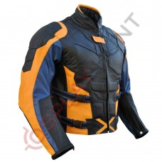 X-Men Origins Wolverine Hugh Jackman Leather Jacket/ X-Men 4 Wolverine Jacket