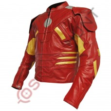 Iron Man Mark VII Costume Leather Jacket / Marvel The Avengers Iron Man Mark 7 Jacket